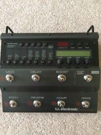 TC Electronic Nova System Guitar Multi FX