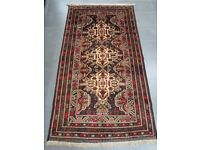 Authentic Afghan Rug - Hand Made with 100% Wool - 200 x 110cm