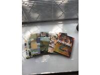 Watercolour painting books (5 books)