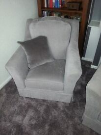 Armchair in need of a grateful backside