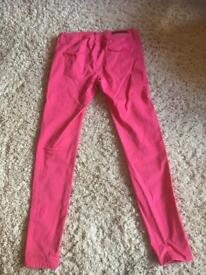 River Island Jeans Pink