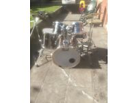 Pearl export drum kit, 1 year old bought brand new.