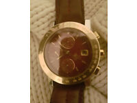 Girrard Perregaux GBM 7000 Watch in 18k Gold and Stainless