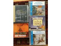 Various Audio CD books