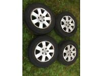 Vw Transporter T5 alloy wheels