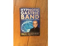 New Paul McKenna Hypnotic Gastric Band Book With CD and DVD Weight Loss Fitness All New Never Opened