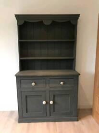 Welsh dresser in dark grey. Nkuku handles