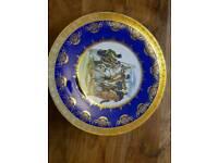 Decorative dinner plate