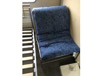 Futon chairs with mattress single futon chair