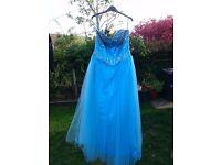 Blue Prom dress by Grace Karin