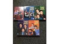 Two and a Half Men DVD collection