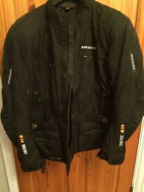 motorbike jacket Black large