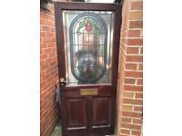 Hardwood External Door