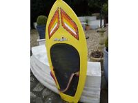 HYDRO SLIDE BODY / KNEE BOARD 53INCH LONG 21INCH WIDE IN GOOD USED CONDITION ONLY £30 FOR QUICK SALE