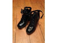 New black paton shoes/boots size 3