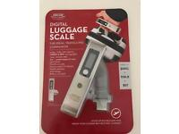 Digital luggage scales brand new with packaging