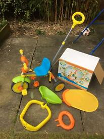 Deluxe gro and go trike. Excellent condition. Still in box. Rrp £60
