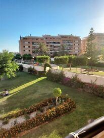 3 Bed Apartment El Pinillo Torremolinos Costa del Sol Pool With Lifeguard Gardens Tennis Clubhouse