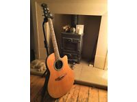 Applause by Ovation AE128 ( Summit Series ) Electro-Acoustic guitar. Over 25 years old.