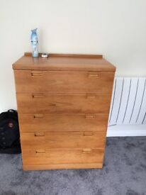 chest of drawers / wardrope
