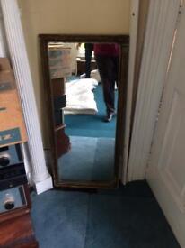 Rectangular mirror of age