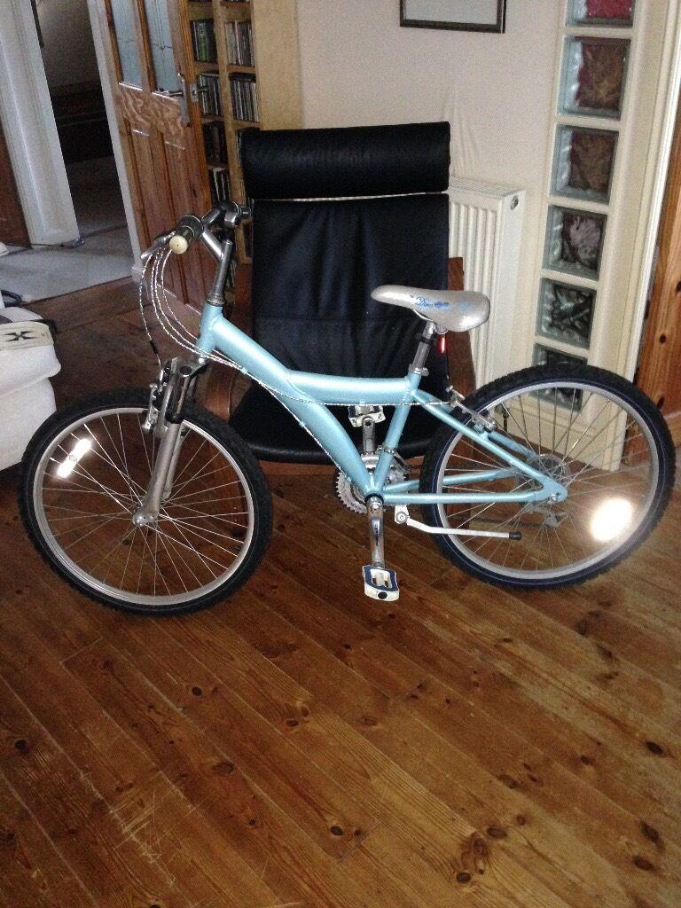 """Girls Raleigh Diva Bike 21"""" Frame"""