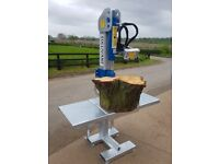 Tractor mounted Log splitter, PTO, engine, hydraulic options, log holder