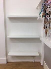 Ikea floating shelves