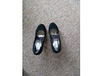 Steve Madden high heel - black
