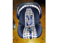 Graco baby car seat and child car seat