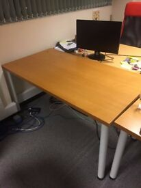 Used Oak Office Table (x2 currently available)