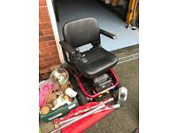 Mobility electric wheelchair