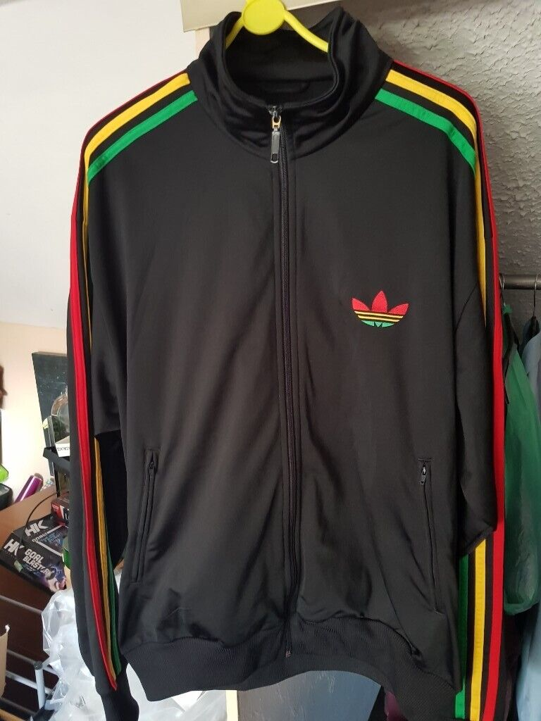 Mens OnoIn Xl BedminsterBristol Adidas Track Jacket £20 Red Yellow Gumtree Green Rasta 8PknXZNw0O