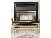 Gas Fire, hardly used and in excellent condition