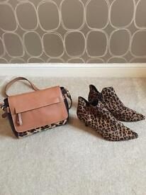 Boots and matching bag
