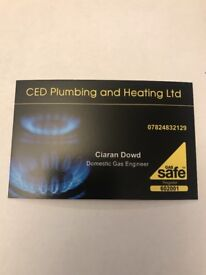 Gas safe registered Domestic Gas Engineer Services.