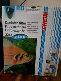 Eheim 2213 plus external canister filter