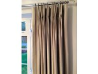 Double Pinch Pleat Curtains (Laura Ashley)
