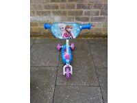 Frozen Tri-Scooter. £10. Age 2+ Excellent condition.
