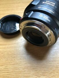 Canon Utlrasonic Zoom Lens 70-300mm, f4-5.6, USM