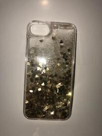 Falling Glitter iPhone 8 case