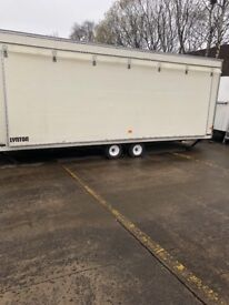 Display trailer or could alter for catering trailer