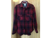 REPLAY - Flannel shirt - Red/Checked - Men