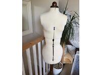 Dressmaking Doll Mannequin - adjustable