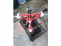 12 inch postman pat boys bike it in good condition it hardly used