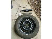 185/65 R15 Spare Wheel Set fits Vauxhall Corsa D Sri and ltd edition