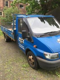 Ford transit flat bed