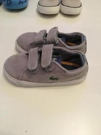 Boys shoes slippers trainers sandals size 4 4.5