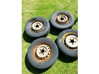 Mercedes Sprinter VW LT35 15inch 5 Stud Steel Wheels