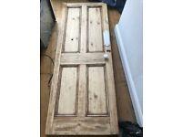 Vintage interior door